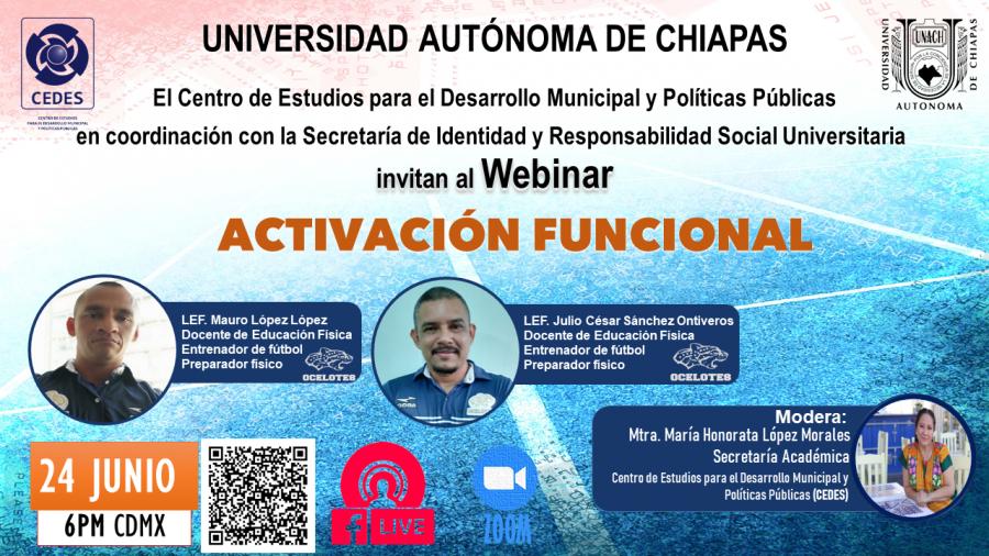 Webinar: Activación funcional