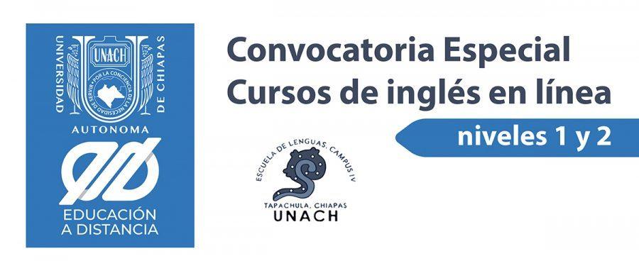 Convocatoria especial de cursos de inglés para sedes académicas