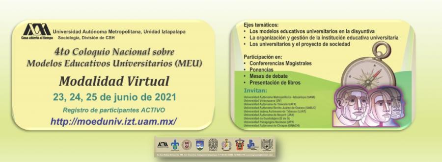 4to Coloquio Nacional Sobre Modelos Educativos Universitarios (MEU)